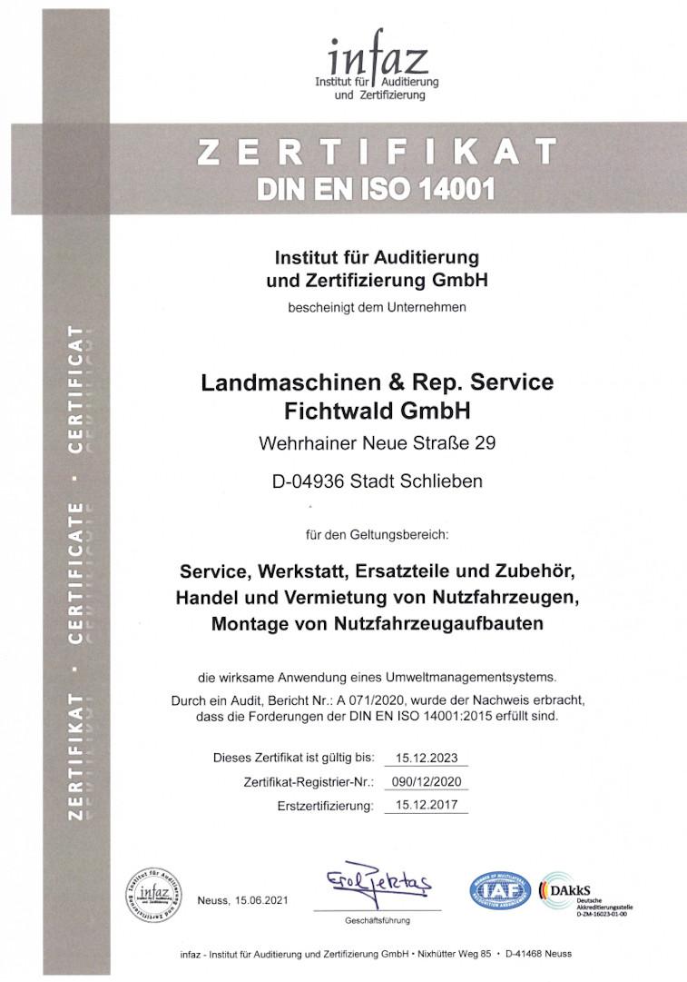 Zertifikat-ISO-14001